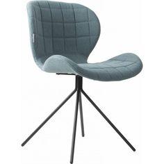 Zuiver OMG stoel blauw - Designwonen.com