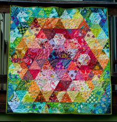 I love the colour in this quilt. http://1159studio.com/2012/06/26/patchwork-prism-quilt-finished/#comment-289