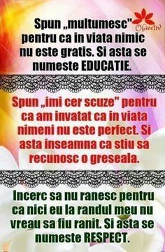 Spun mulțumesc pentru ca în viata nimic School Lessons, Lessons For Kids, Kids Education, Special Education, Teacher Supplies, English Language Learning, New Things To Learn, True Words, Kids And Parenting
