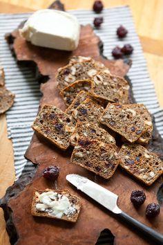Recipe: Hazelnut & Cherry Whole-Grain Crackers