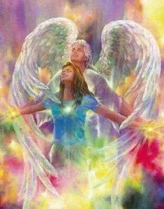 ImageFind images and videos on We Heart It - the app to get lost in what you love. Urbane Kunst, Kunst Online, Angel Warrior, I Believe In Angels, Ange Demon, My Guardian Angel, Prophetic Art, Angel Pictures, Angels Among Us