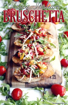 Bruschetta - The Cottage Market