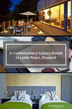 Luxury Lyme Regis Accommodation,  Lyme Regis England, Jurassic Coast, self-catered accommodation