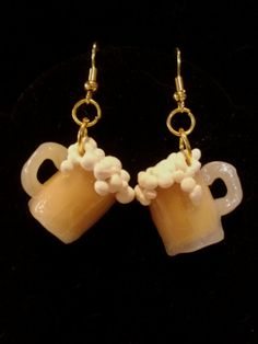 Mug'O'Beer Dangle Earrings