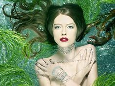 Photos by Matthew Rolston News Fashion, Foto Fashion, Fashion Models, High Fashion, Fashion Shoot, Fashion Bloggers, Mermaid Photo Shoot, Mermaid Photos, Top Models