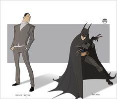 BATMAN - Bruce Wayne By Kizer