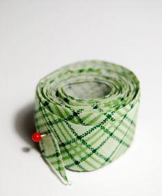 Schrägband super einfach herstellen - japanische Methode