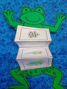 frog life cycle activity for kids with life cycle sequencing cards