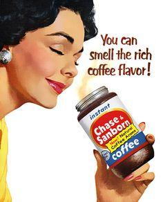 vintage coffe ads | Vintage Chase & Sanborn Coffee Ad | Arizona Coffee