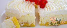 Fantastický rybízový koláček bez kynutí s drobenkou | NejRecept.cz Vanilla Cake, Cheesecake, Xmas, Ale, Sweet, Creme, Brownies, Hampers, Top Recipes