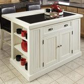 Found it at Wayfair - Nantucket Kitchen Island with Granite Top