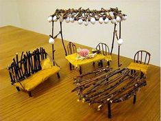 Image result for make fairy furniture