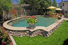 See the best swimming pools in California and Las Vegas created by the leading pool designers Adams Pools. Be inspired to build your dream pool Above Ground Pool Landscaping, Backyard Pool Landscaping, Backyard Pool Designs, Small Backyard Pools, Small Pools, Swimming Pools Backyard, Swimming Pool Designs, Outdoor Pool, Lap Pools