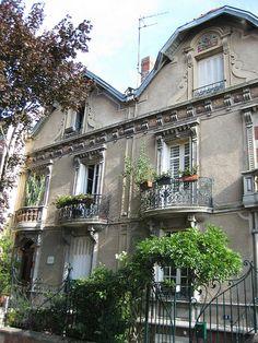 maisons jumelles, Vichy