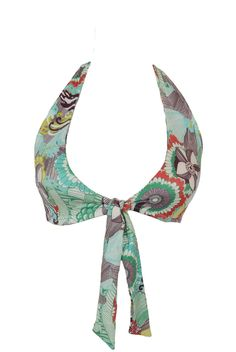 2015 Greenlee Vintage Havana Tie Front Halter >> Shop now on stillandsea.com