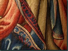 "detail, ""December""; Trivulzio Tapestries of the Twelve Months; Milan; woven 1503 - 1509"