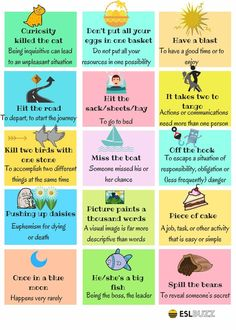 The 30 Most Useful Idioms, #englishidioms