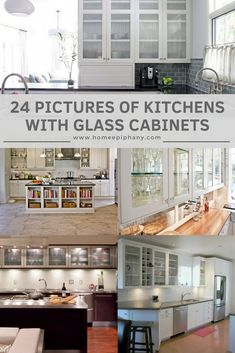 Modern Luxury Kitchens For A Grand Kitchen Grand Kitchen, New Kitchen, Kitchen Ideas, Kitchen Paint, Kitchen Reno, Luxury Kitchens, Cool Kitchens, Refacing Kitchen Cabinets, Glass Cabinets
