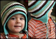 Ravelry: Earflap Hat For Kids pattern by Knittwittz (free pattern)