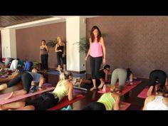 Natasha Rizopoulos Yoga in Greece - YouTube