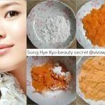 Celeb-Secret: Song Hye Kyo loves DIY carrot flour mask