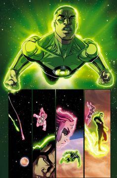 Bernard Chang on GREEN LANTERN CORPS #21 | DC Comics