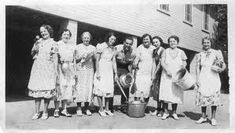 Curds and Whey: ♥ The History of APRONS ♥