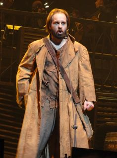 Les Mis - Alfie Boe as Jean Valjean. great job as the original jean valjean. He set the standard and filled the shoes. and hugh Jackman nailed it.