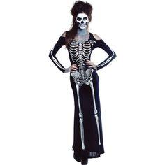 Adult Bone Appetit Skeleton Costume