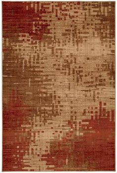 Mohawk Select Colorful Expressions Inferno Red 58200-58029 Area Rug