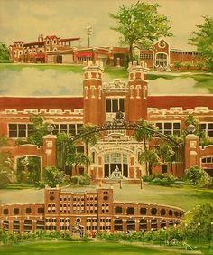 Florida State University Painting