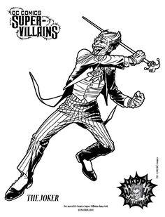 Batman arkham city riddler coloring pages coloring pages for Super villains coloring pages