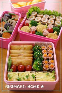 Indulgy - Everyone deserves a perfect world! Bento Recipes, Cooking Recipes, Healthy Recipes, Bento Kawaii, Cute Food, Yummy Food, Bento Box Lunch, Japanese Bento Box, Japanese Food