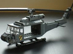 Bell UH-1 Iroquois Huey /by Brian's Bricks #flickr #LEGO #chopper