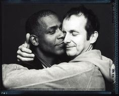 Russell Edgington (Denis O'Hare on True Blood) with husband Hugo Redwood
