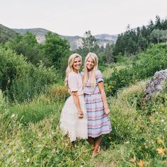 Piper & Scoot<< sister missionary dresses