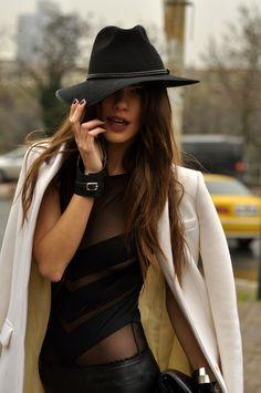 Black Hat  Leather