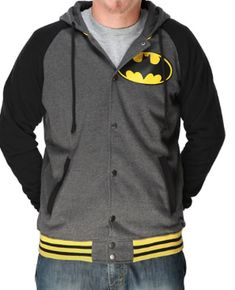 Gifts for Him: DC Comics Batman Hoodie @ Think Geek Superhero Costumes Kids, Mode Geek, Batman Hoodie, Fandom Fashion, Geek Gear, Super Hero Costumes, Cool Outfits, Geek Stuff, Hoodies