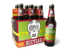 Packaging of the World: Creative Package Design Archive and Gallery: Mictlan Brewery (Student Work) Food Box Packaging, Beverage Packaging, Bottle Packaging, Rum Beer, Beer Brands, Apps, Packaging Design Inspiration, Craft Beer, Brewery