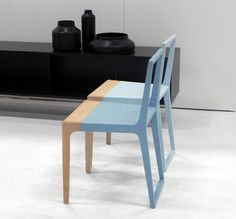 branca-lisboa chair with rubber on the top of the frame ! Comfy and quite elegant.