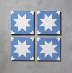 Blue Pradena Tile is part of Bert & May's handmade cement tile collection. Shop our range of quality tiles in plain or patterned styles, created using natural pigments. Spanish Design, Spanish Tile, Handmade Tiles, Handmade Shop, Bert And May Tiles, Victorian Tiles, Blue Tiles, Tiles Uk, Cement Tiles