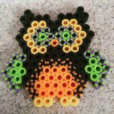 Halloween owl perler beads by mingnpanda