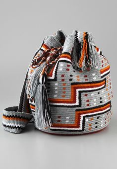 Check out this cool crochet Bag!