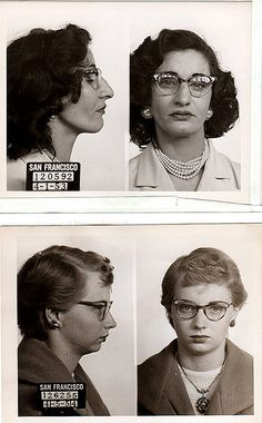 relatives involved with the manufacturing, selling, and interstate transport of counterfeit hushpuppy shoes. aunt roberta, top, was the brains and ringleader of the illegal operation. aunt trudy was the tag-along as usual.