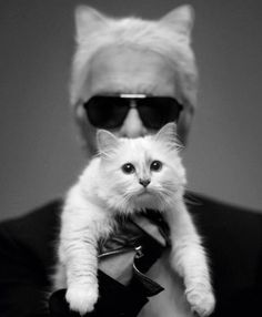 """Karl Lagerfeld has met """"The One"""""""