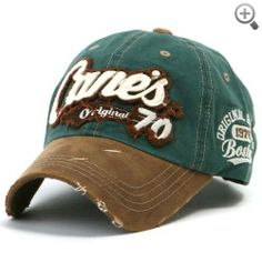 ililily Distressed Vintage Cotton embroidered Baseball Cap Snapback Trucker Hat…