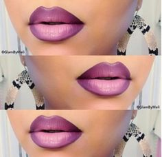 Beautiful Ombre Lip.
