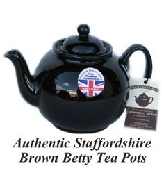 Brown Betty 4 Cup Teapot. Made in England. #Teapot #Collectible #Decor #Gift #gosstudio .★ We recommend Gift Shop: http://www.zazzle.com/vintagestylestudio ★