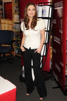 "Alyssa Milano - ""Safe at Home"" Book Signing in New York"