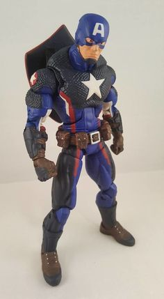"#Marvel Legends 6"" Modern Captain America Custom Figure By Token Customs #Marvel"